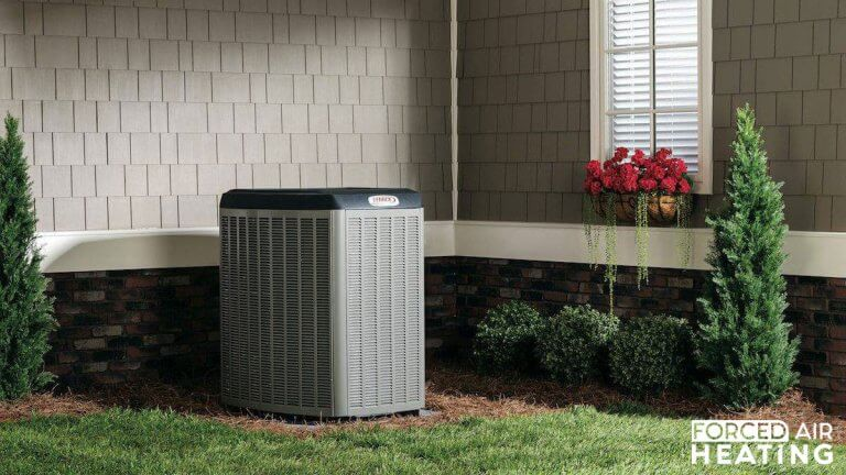 What is forced air heating central heating
